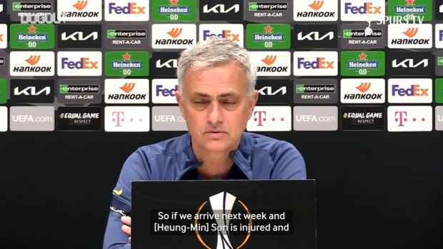 Mourinho gives Son update and praises Lucas Moura's professionalism