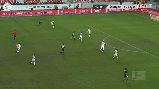 Franck Ribery's long-range cracker against Stuttgart