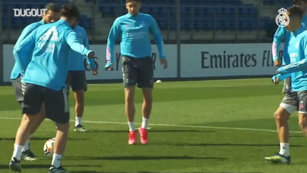 Real Madrid continues preparations for Celta clash