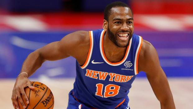 New York Knicks Alec Burks