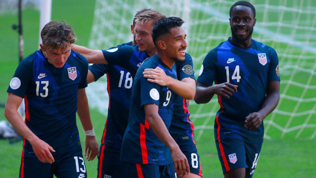 The USA beats Costa Rica in Olympic qualifying