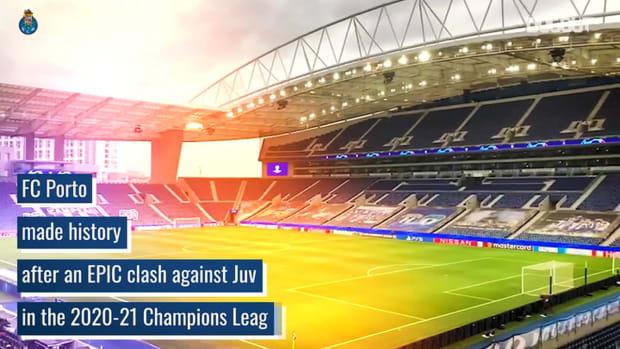 FC Porto's epic battle against Juve in the 2020-21 Champions League