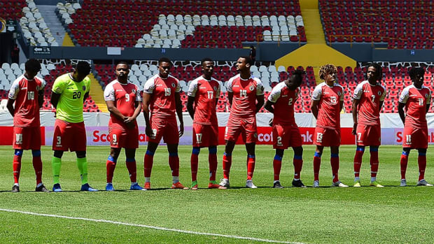 Haiti's U-23 Olympic qualifying team