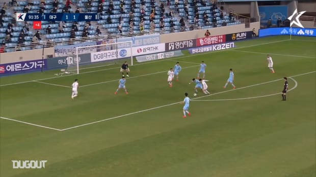 Cesinha's incredible injury-time winner against Ulsan