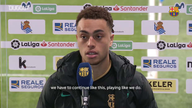Sergiño Dest: 'I'm happy for helping the team with the win'