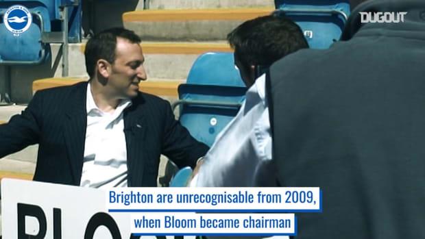 Brighton's rise under Tony Bloom