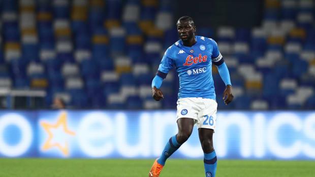 Kalidou Koulibaly Liverpool Napoli
