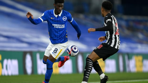 Yves Bissouma Liverpool Target