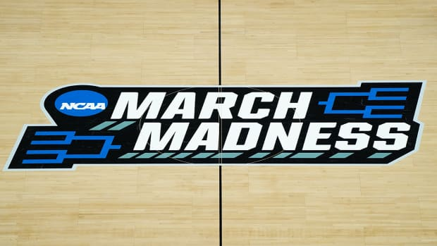 March Madness logo.
