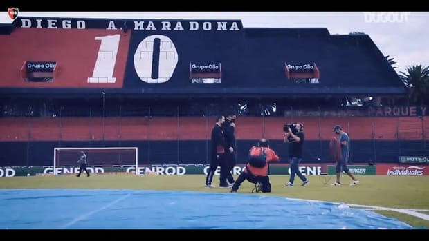 Pitchside: Germán Burgos's debut as Newell's manager