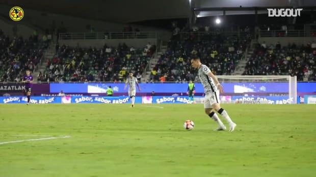 Pitchside: América's winning goal at Mazatlán