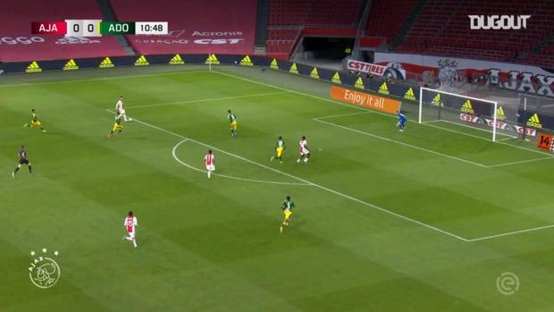 Devyne Rensch's first Ajax goal