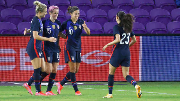 The USWNT will face Sweden and France