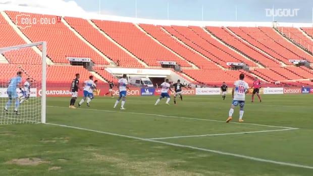 Pitchside: Leonardo Gil's impressive goal at the Chilean Supercup