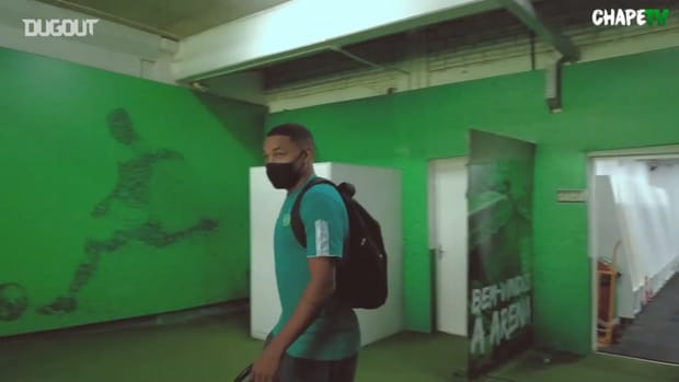 Behind the scenes of Chapecoense's victory vs Juventus-SC