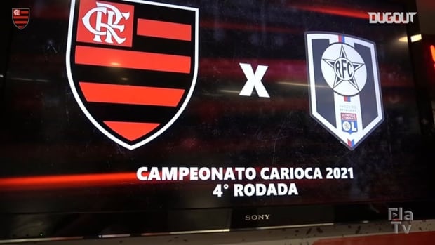 Behind the scenes of Flamengo's victory over Resende