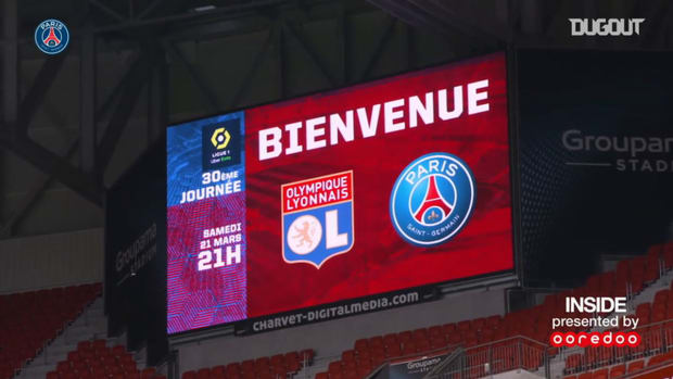 PSG win against Lyon behind the scenes