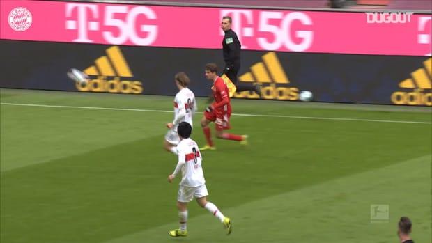 Sensational Lewandowski hat-trick defeats Stuttgart