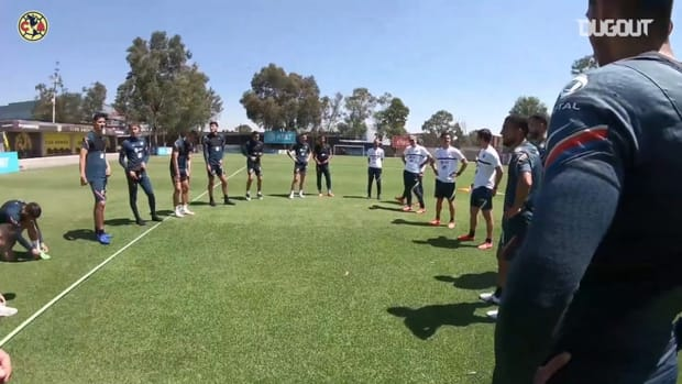 América training from Fidalgo's point of view