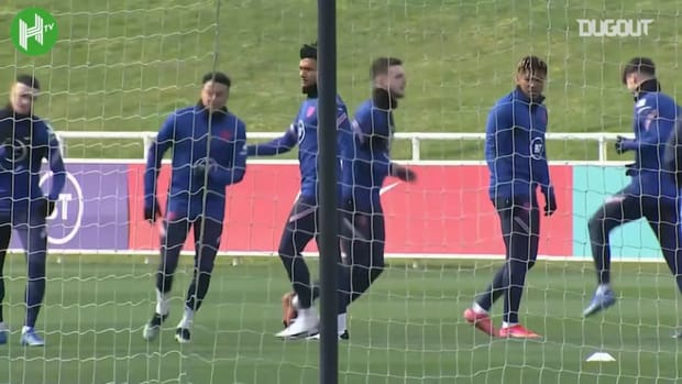 England train ahead of World Cup qualifier opener