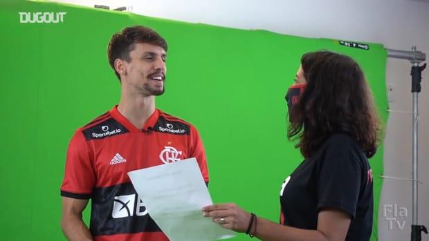 Behind the scenes: Flamengo's 2021 photoshoot