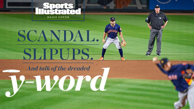 SI Daily Cover: SCANDAL. SLIPUPS. And talk of the dreaded y-word. Jose Altuve says he'll bounce back after a season from hell. (But will he?)