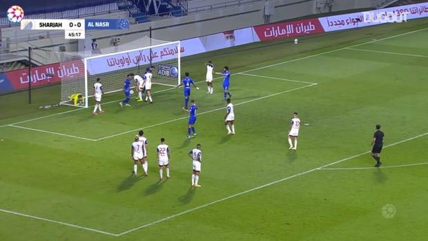 Highlights: Al-Nasr 2-1 Sharjah
