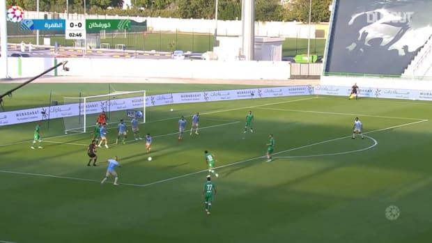 Highlights: Khorfakkan 5-1 Al-Dhafra