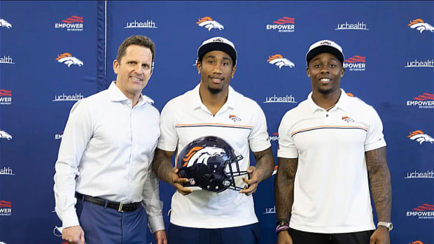 George Paton, Ronald Darby, Mike Boone