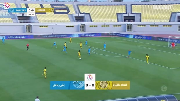 Highlights: Ittihad Kalba 0-2 Baniyas