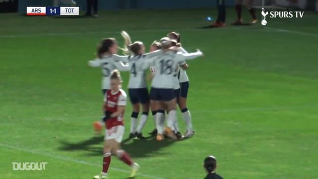 Ria Percival's acute finish vs Arsenal