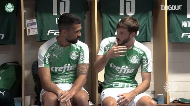 Behind the scenes of Palmeiras draw vs São Bento in Rio