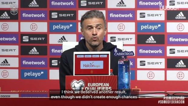 Luis Enrique: 'We lacked sharpness'
