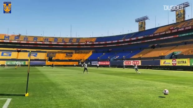 Great finishes and saves in Tigres training