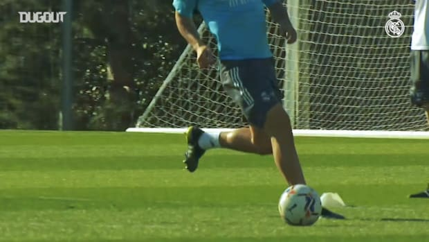 Karim Benzema's focus training
