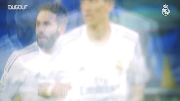 Dani Carvajal's first goal with Real Madrid