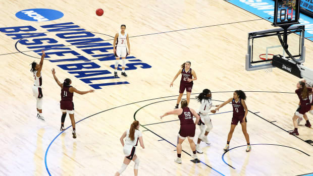 The women's NCAA tournament in San Antonio