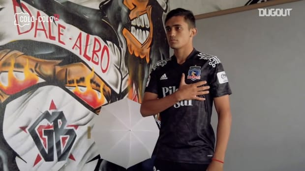 Behind the scenes: Colo-Colo's photoshoot