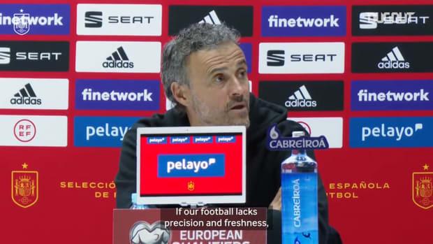 Luis Enrique expresses his concern but remains confident