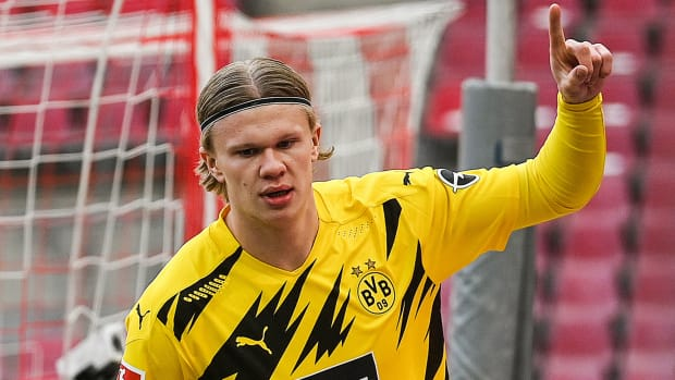Erling Haaland could be headed to Manchester City