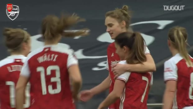 Miedema's incredible volley vs Spurs