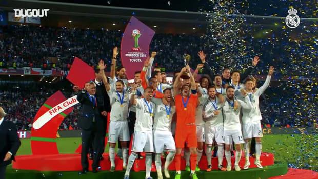 Sergio Ramos's titles celebrations