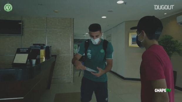 Behind the scenes of Chape's away victory over Figueirense