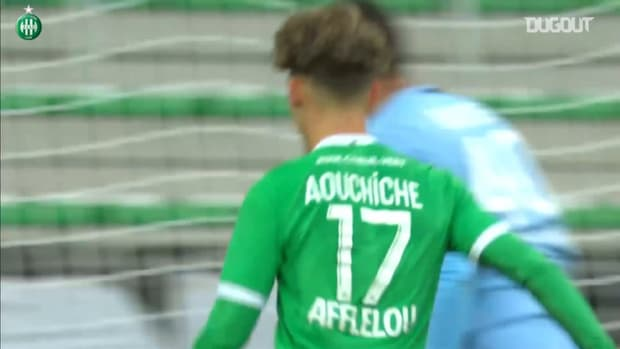 Best of Adil Aouchiche with Saint-Etienne so far