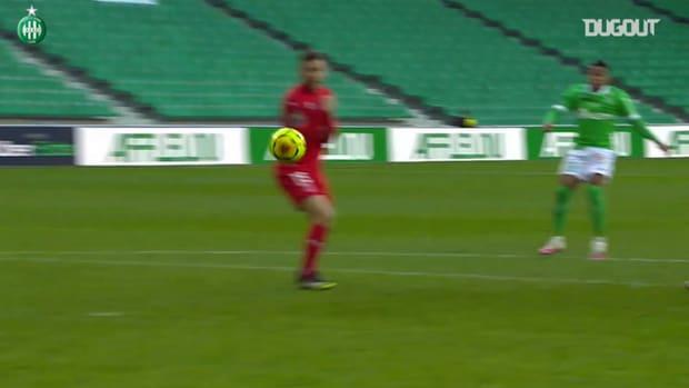 Arnaud Nordin's best goals with Saint-Etienne