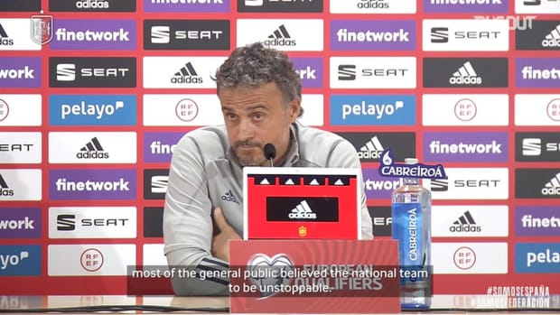 Luis Enrique on how Spain's 6-0 win vs Germany affected expectations