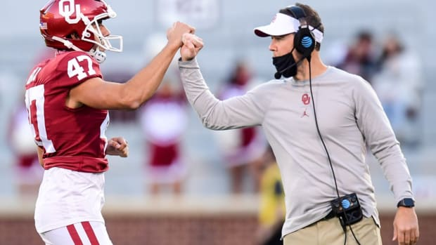 Gabe Brkic, Lincoln Riley