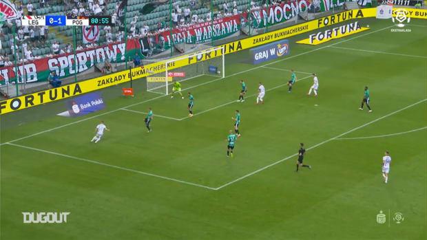 Best goals between Legia and Pogon