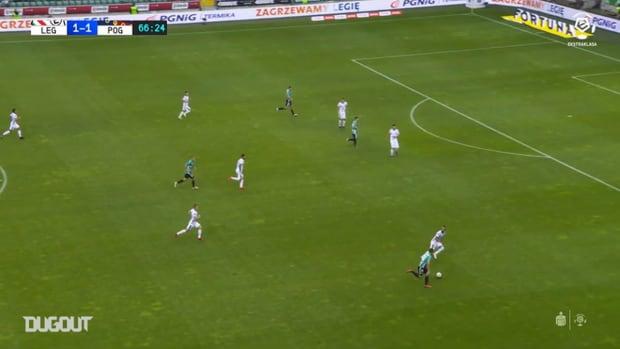 Dante Stipica's best saves against Legia