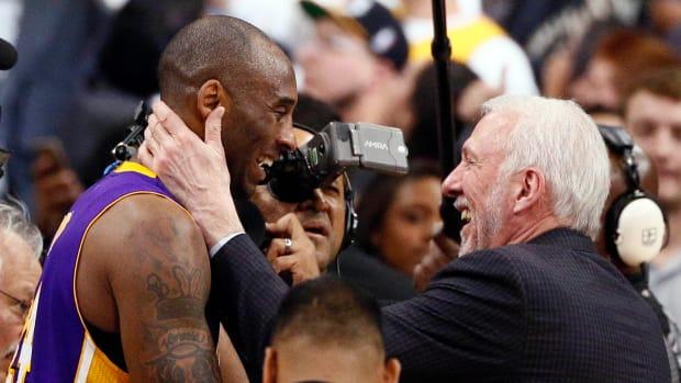 Gregg Popovich spoke on Kobe Bryant's death